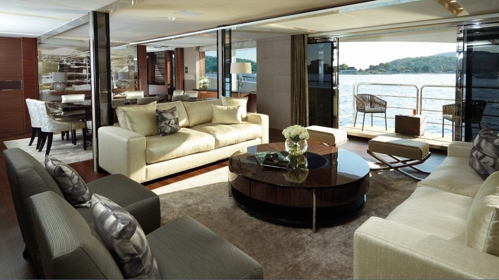 Inside On Board Yacht IMPERIAL PRINCESS