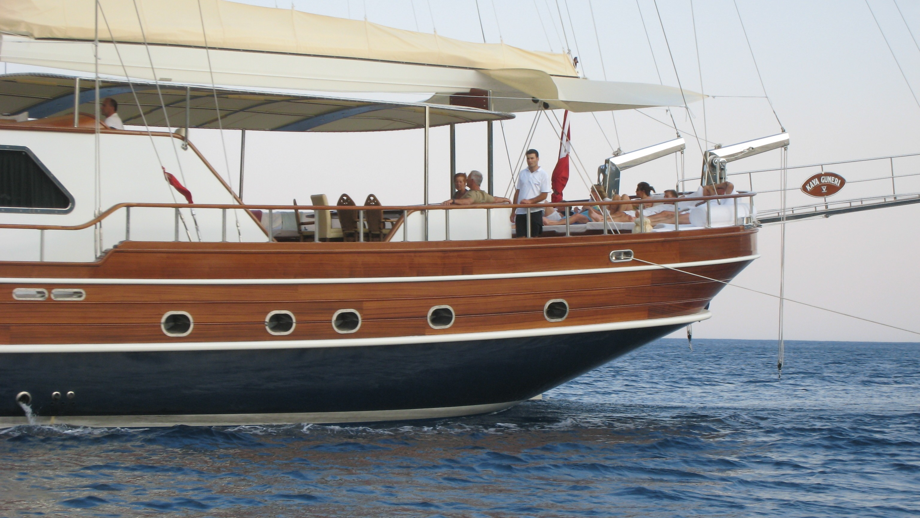 The 40m Yacht KAYA GUNERI V