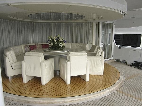 Interior Outdoor Eating/dining On Board Yacht LADY ARRAYA