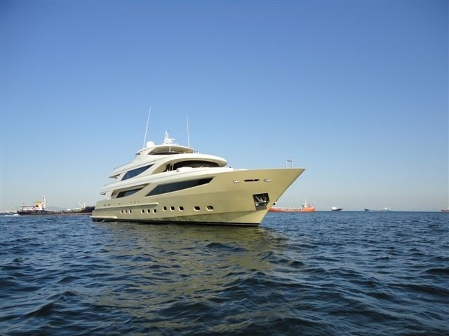 The 41m Yacht MY STEEL