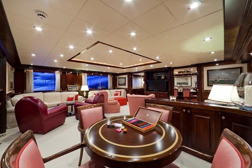 Premier Saloon On Board Yacht SOPHIE BLUE