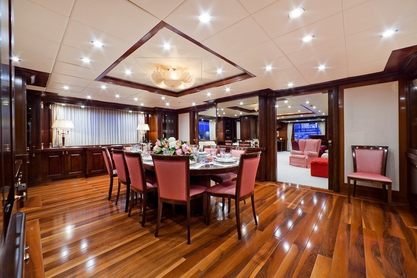 Eating/dining Saloon On Yacht SOPHIE BLUE