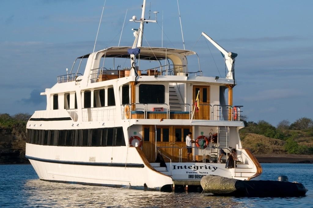 Aft Aspect On Board Yacht INTEGRITY