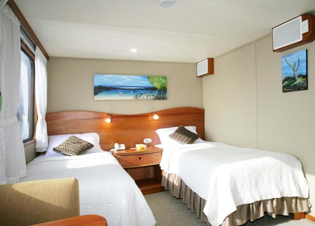 Twin Or King Convertible Stateroom On Yacht INTEGRITY