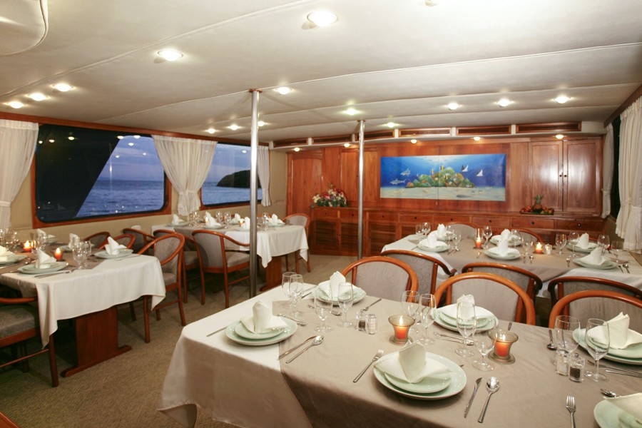 Eating/dining Saloon On Yacht INTEGRITY