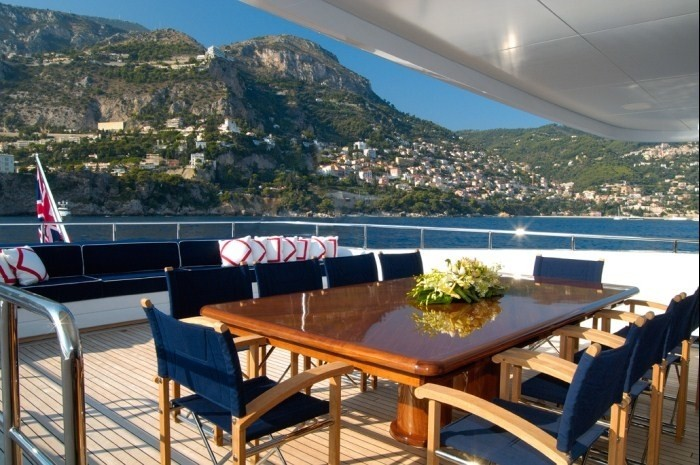 Eating/dining Furniture On Board Yacht OXYGEN
