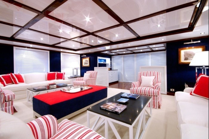 Saloon On Yacht OXYGEN