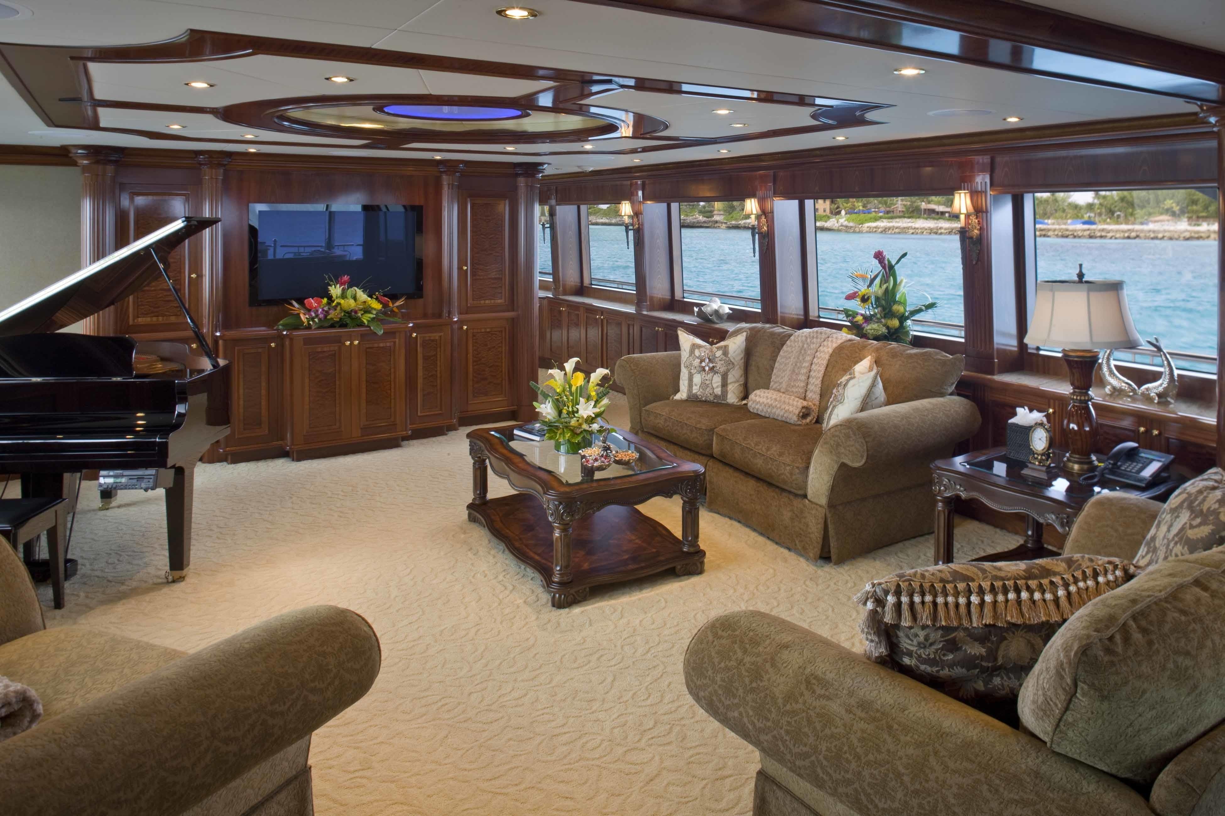 Saloon On Yacht FAR FROM IT
