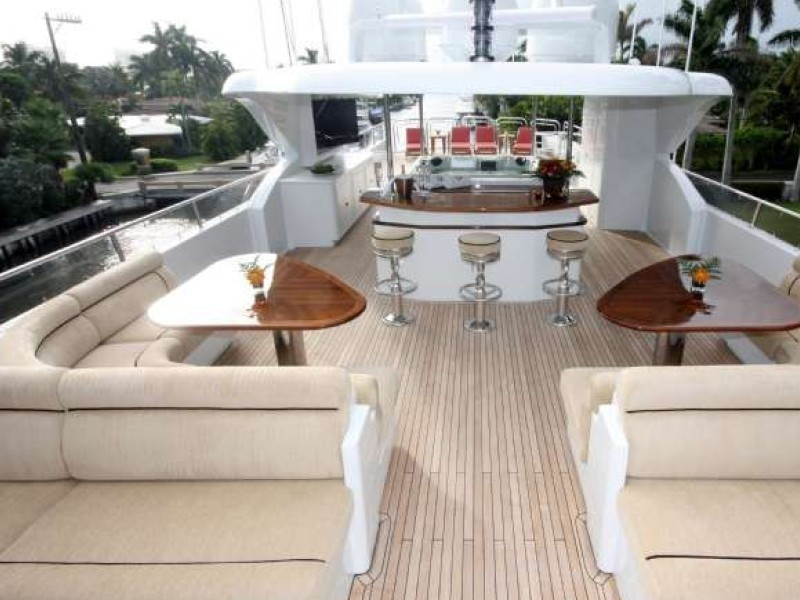 Aft Sitting On Yacht FAR FROM IT