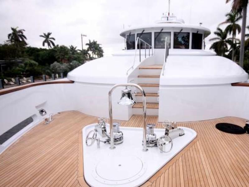 Sun Deck Aboard Yacht FAR FROM IT