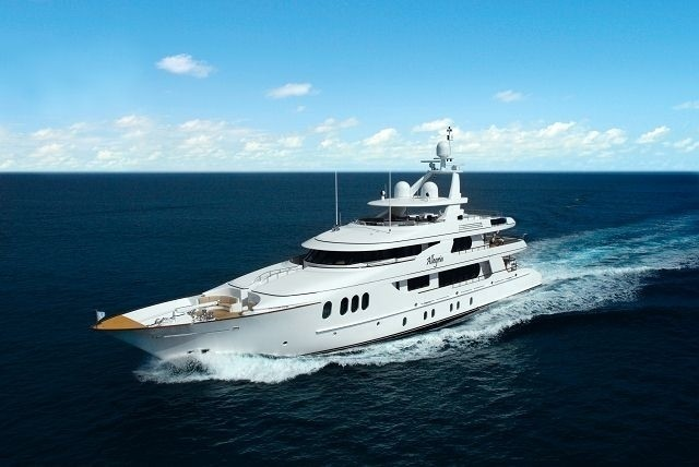 The 46m Yacht ALLEGRIA