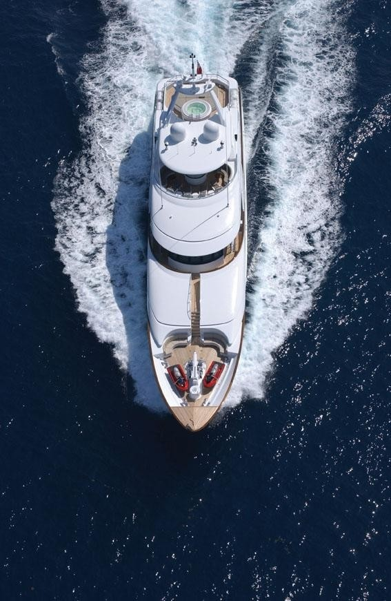 The 46m Yacht ALLEGRIA