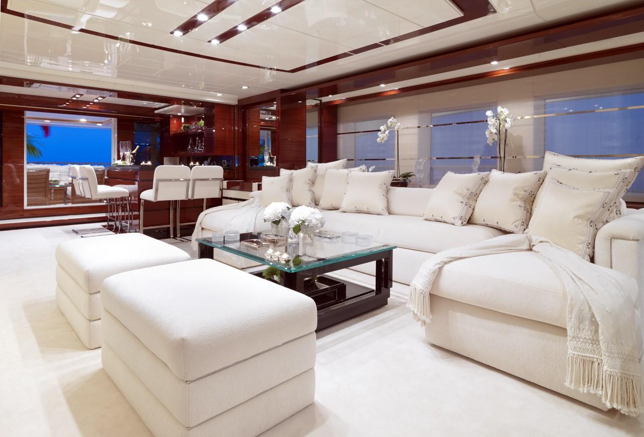 Screening: Yacht WILD ORCHID I's Premier Saloon Captured