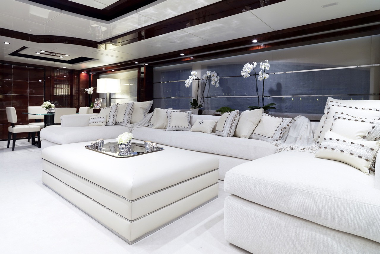 Saloon Top Deck Aboard Yacht WILD ORCHID I