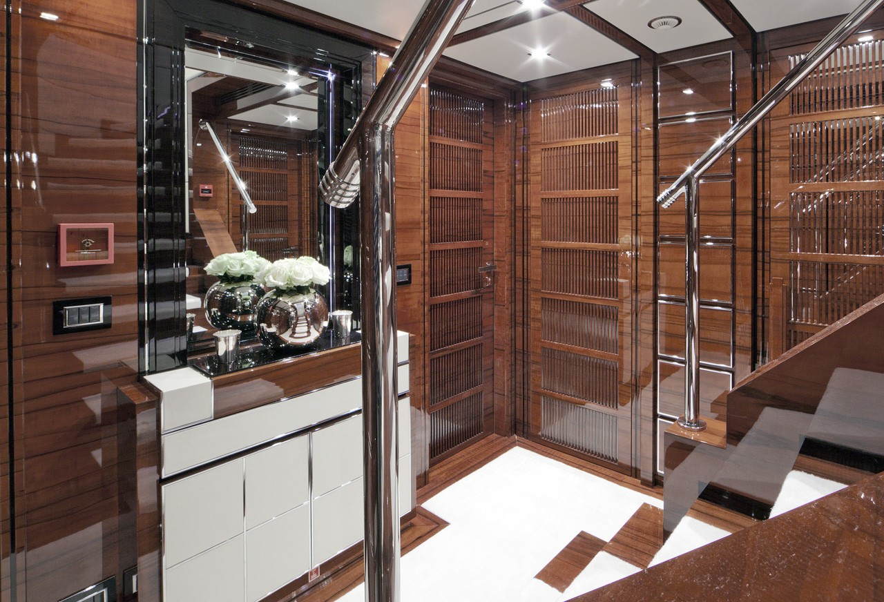 Lobby On Board Yacht WILD ORCHID I