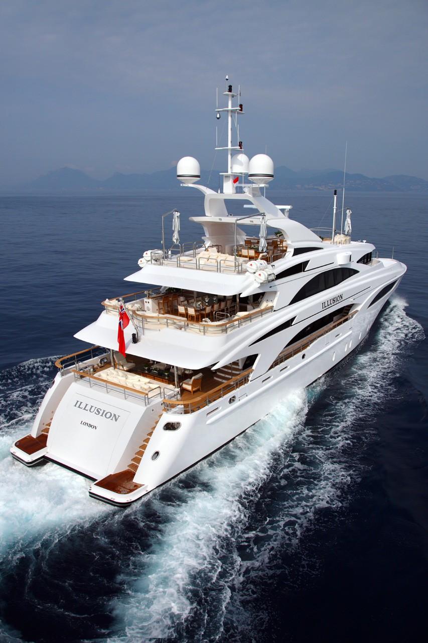 Aft: Yacht WILD ORCHID I's Cruising Captured