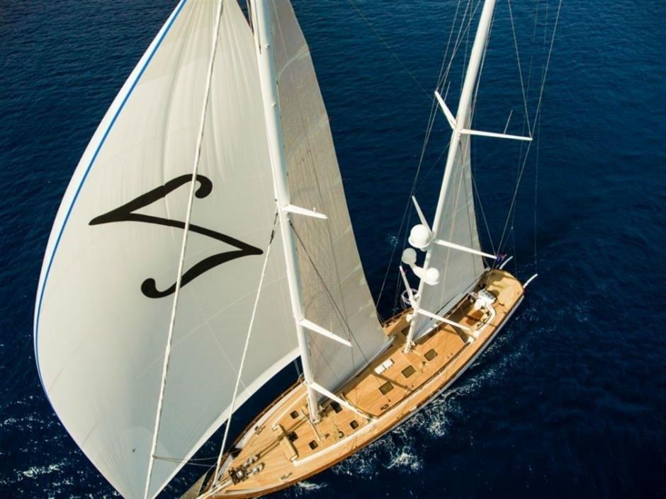 The 46m Yacht ZANZIBA