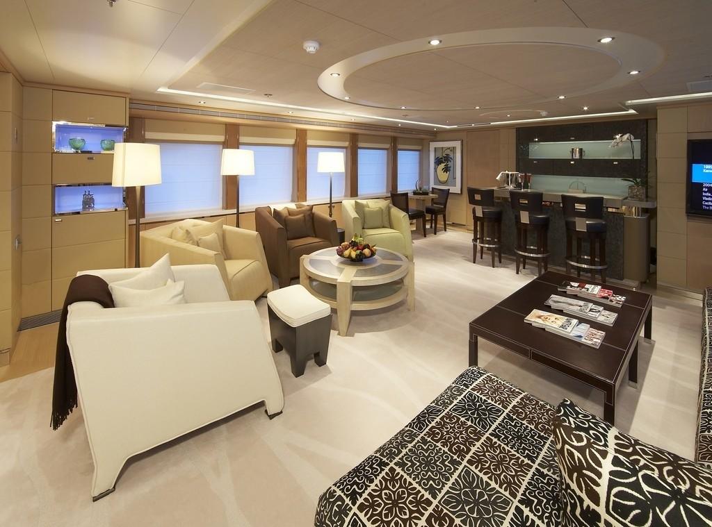Saloon On Board Yacht RAASTA