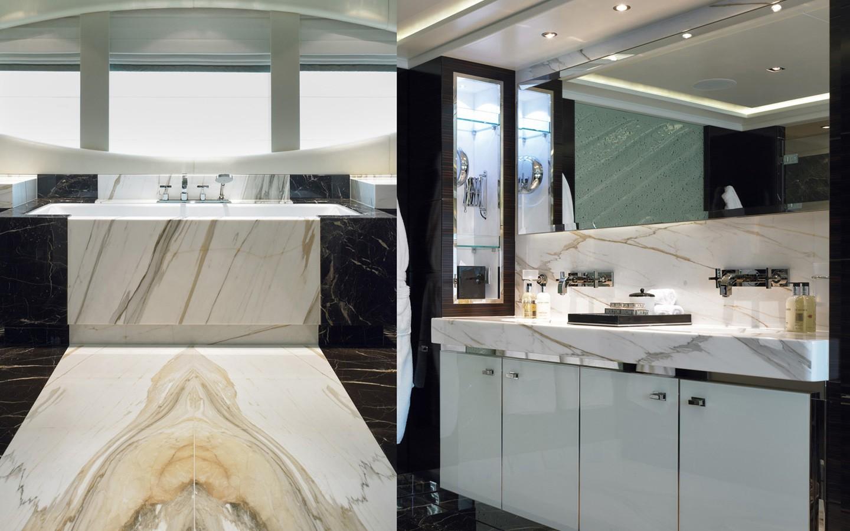 Bath On Yacht RAASTA