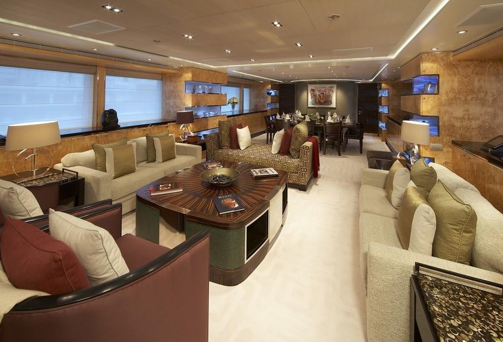 Premier Saloon Aboard Yacht RAASTA