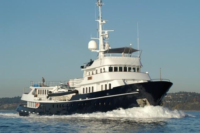 Cruising On Yacht ASTERIA