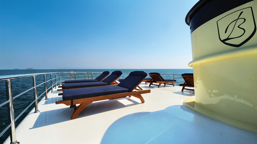 Life On Board Yacht TIMELESS