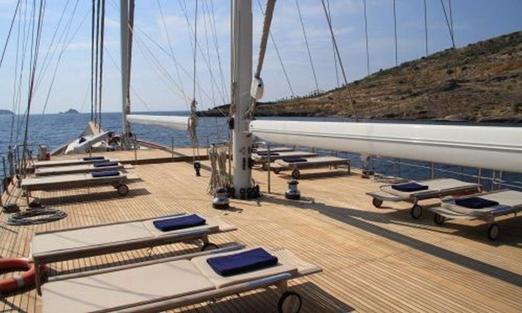 The 50m Yacht HAZAR YILDIZI