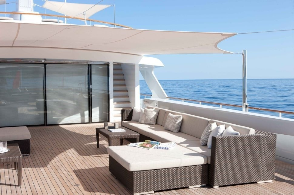 Life Aboard Yacht MIRAGE