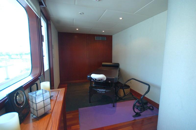Massage Area On Board Yacht STARGAZER