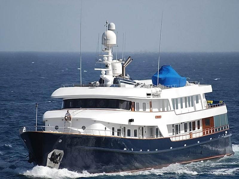 Forward Aspect Aboard Yacht STARGAZER