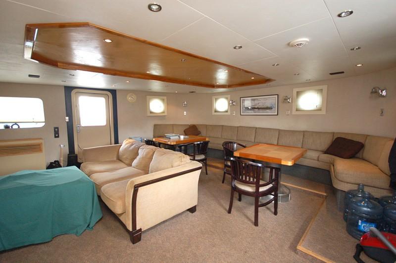 Crewmember's Mess Aboard Yacht STARGAZER