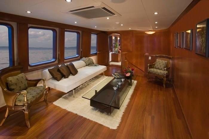 Main Master Saloon On Yacht STARGAZER