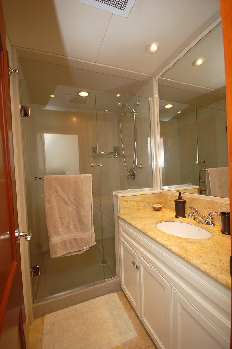 Guest's Bathroom On Yacht STARGAZER