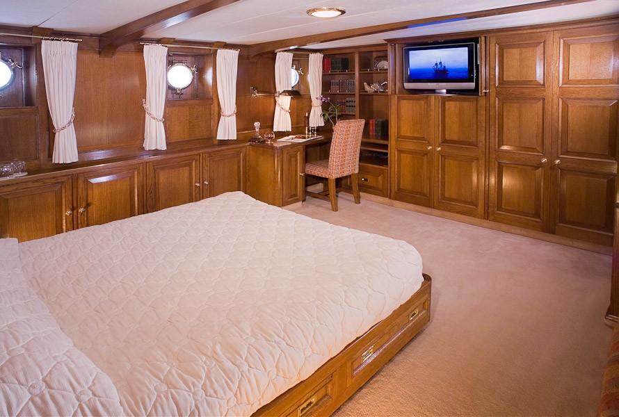Main Master Stateroom On Board Yacht FLEURTJE