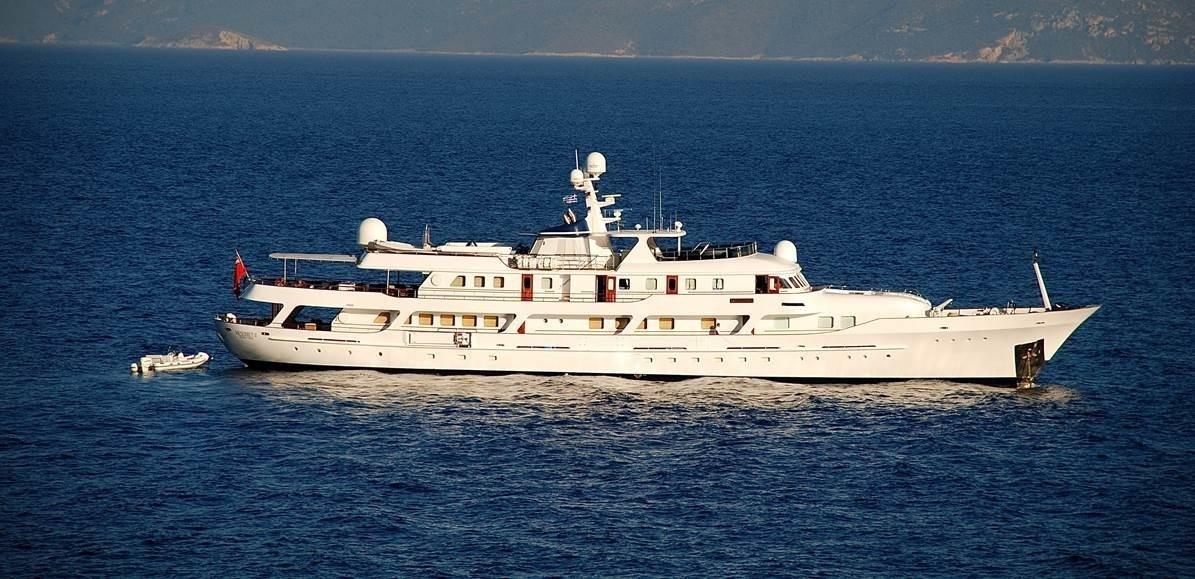 The 57m Yacht MESERRET II