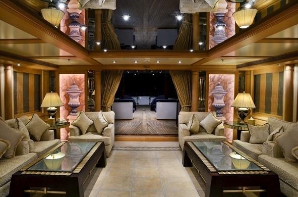 Premier Saloon On Board Yacht MESERRET II