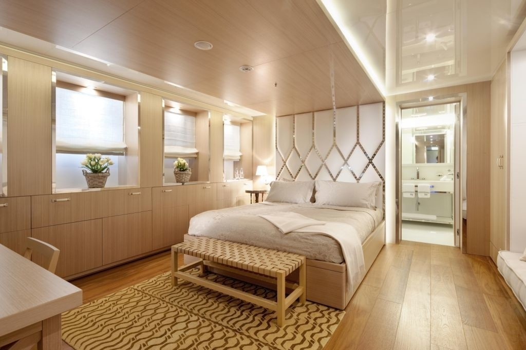 Neutralised Cabin On Yacht VICKY