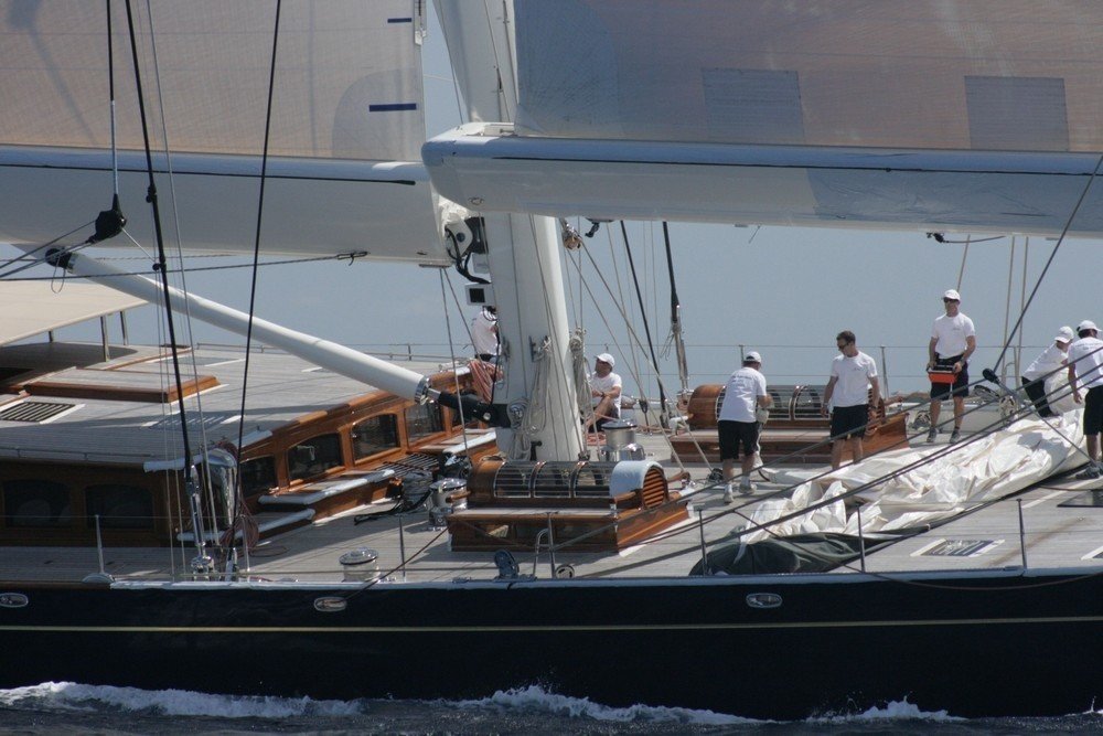Detail: Yacht ATHOS's Cruising Pictured