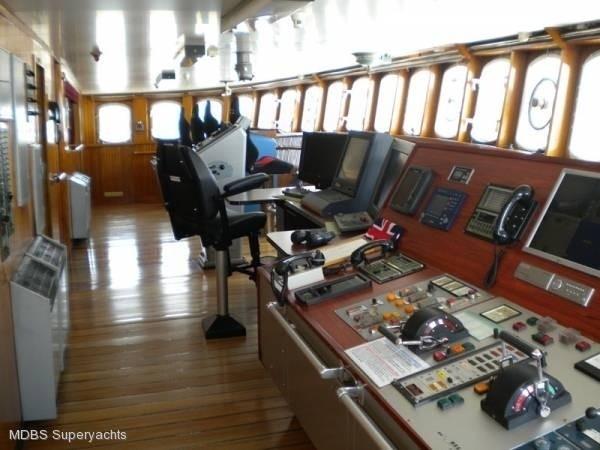 Bridgedeck On Yacht SARSEN