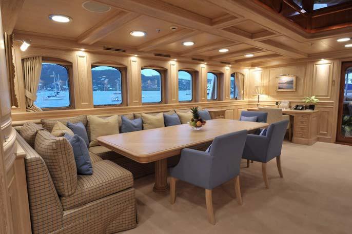 Personal Saloon Aboard Yacht NERO