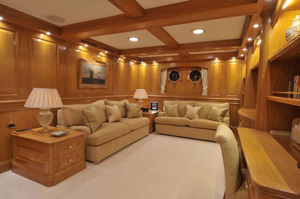 Personal Guest's Saloon Aboard Yacht NERO