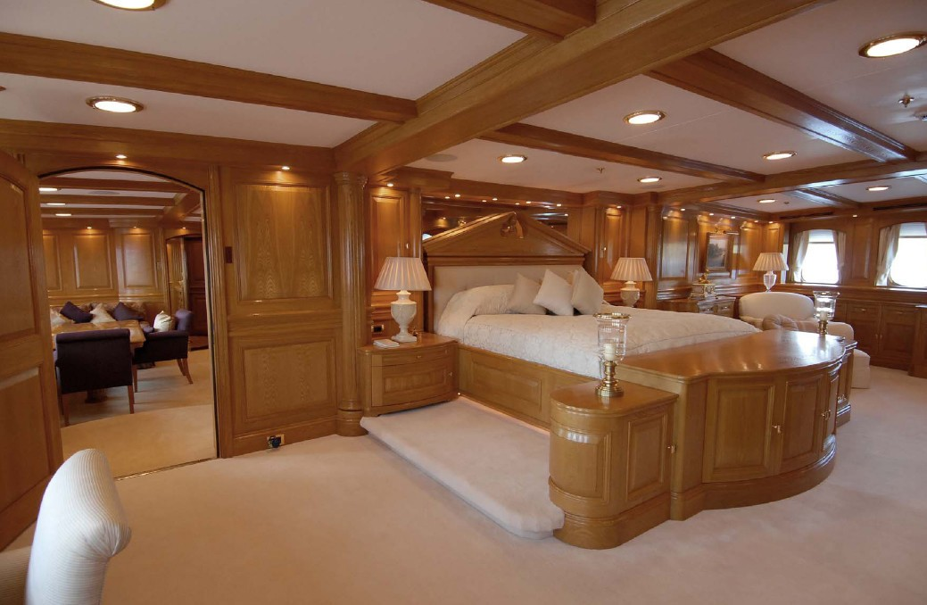 Main Master Stateroom On Yacht NERO