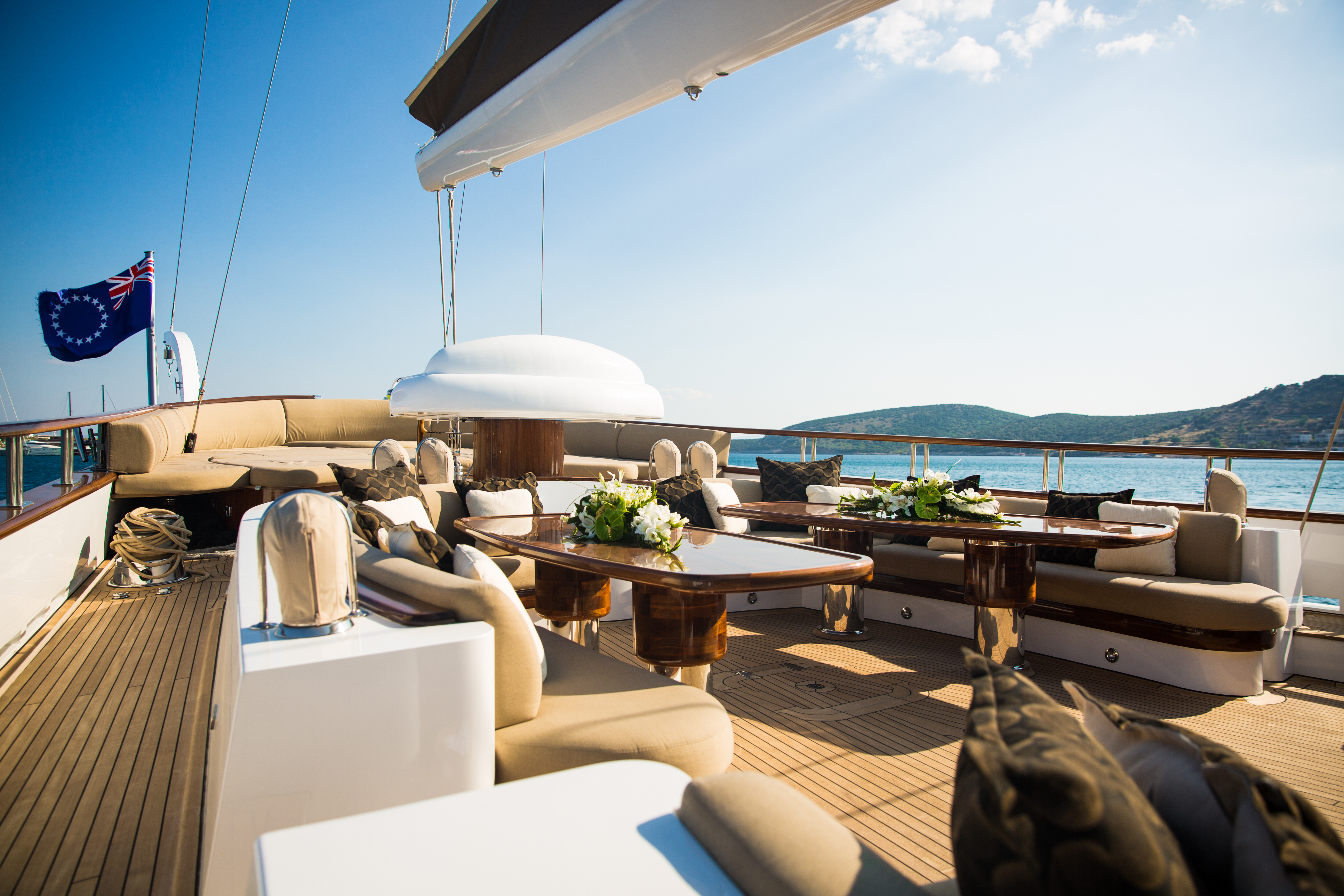 Aft Deck Social Areas
