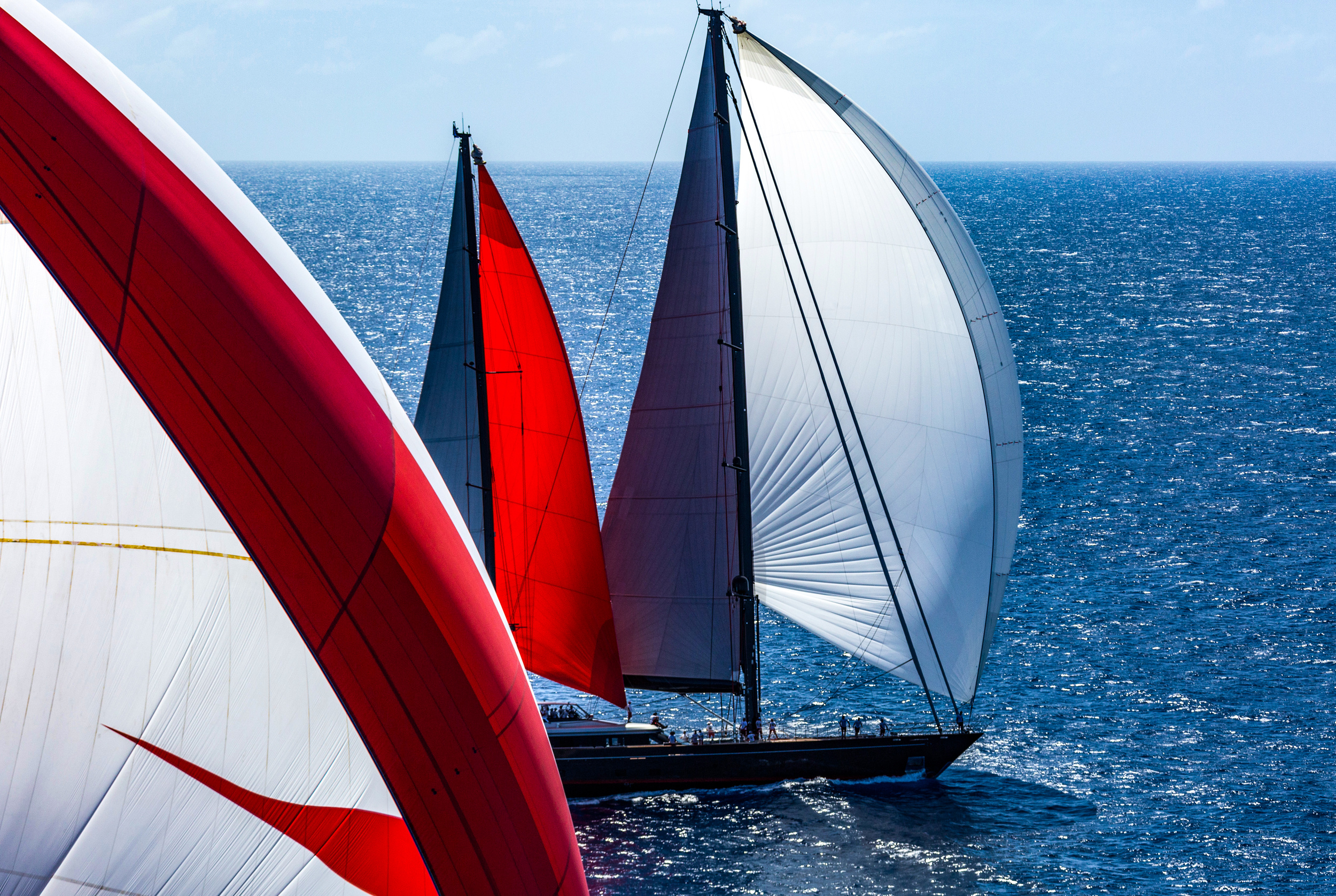 Charter Luxury Sailing Yacht Seahawk For Regatta Events Around The World