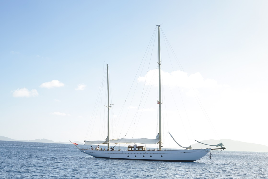 Classic Sailing Yacht SINCERITY - Underway