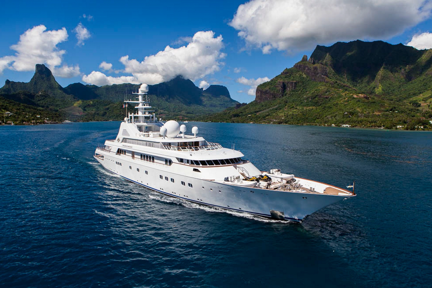 Grand Ocean cruising in the South Pacific