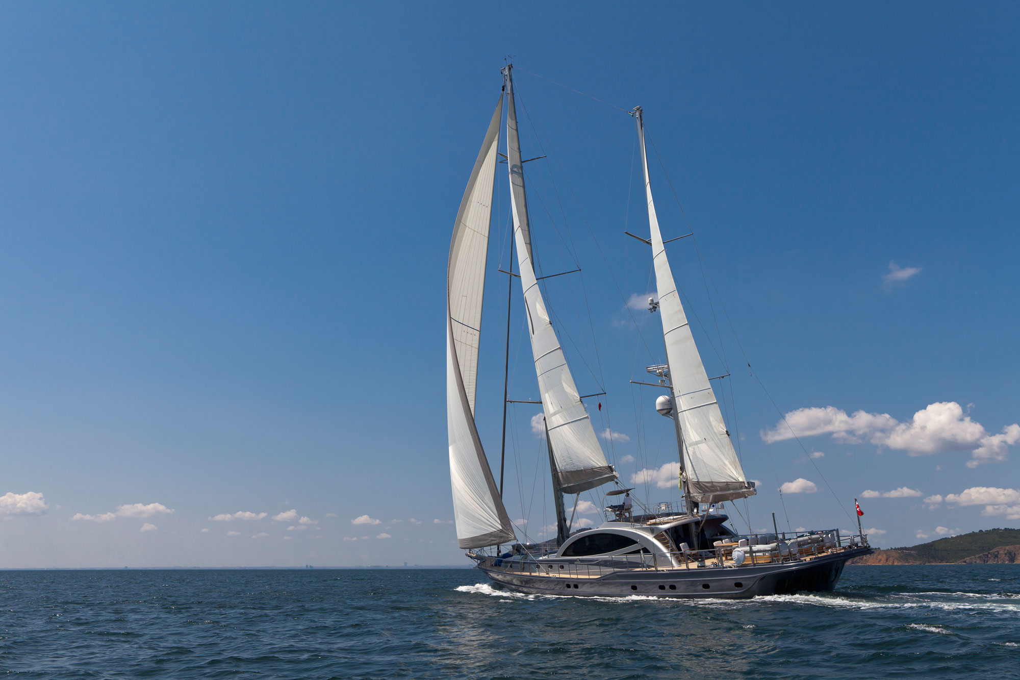 Gulet MERLIN - Sailing