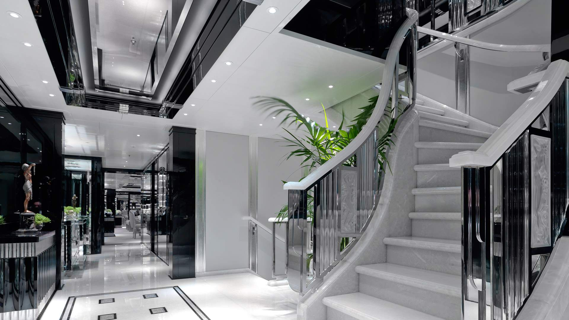 Lobby And Staircase