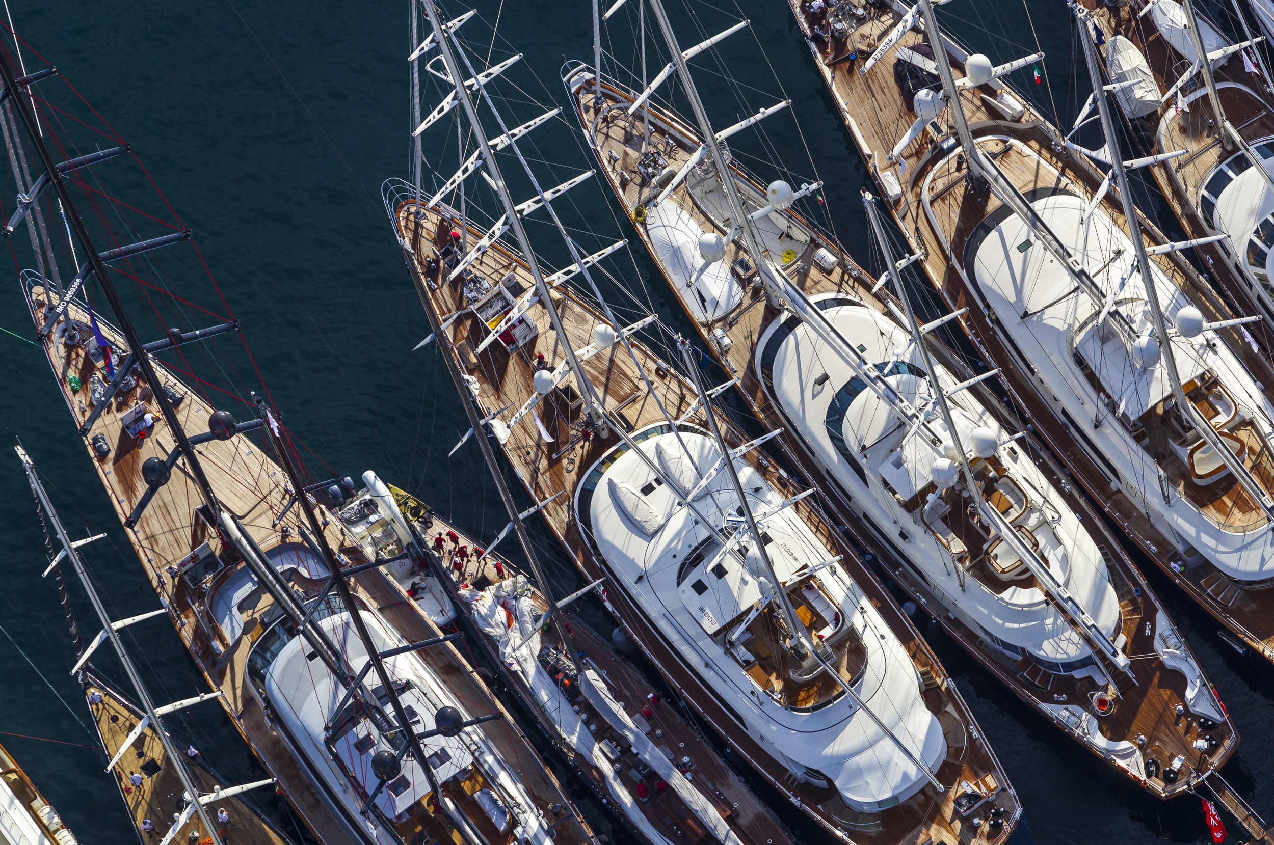 Luxury Sailing Superyachts At Regatta Events