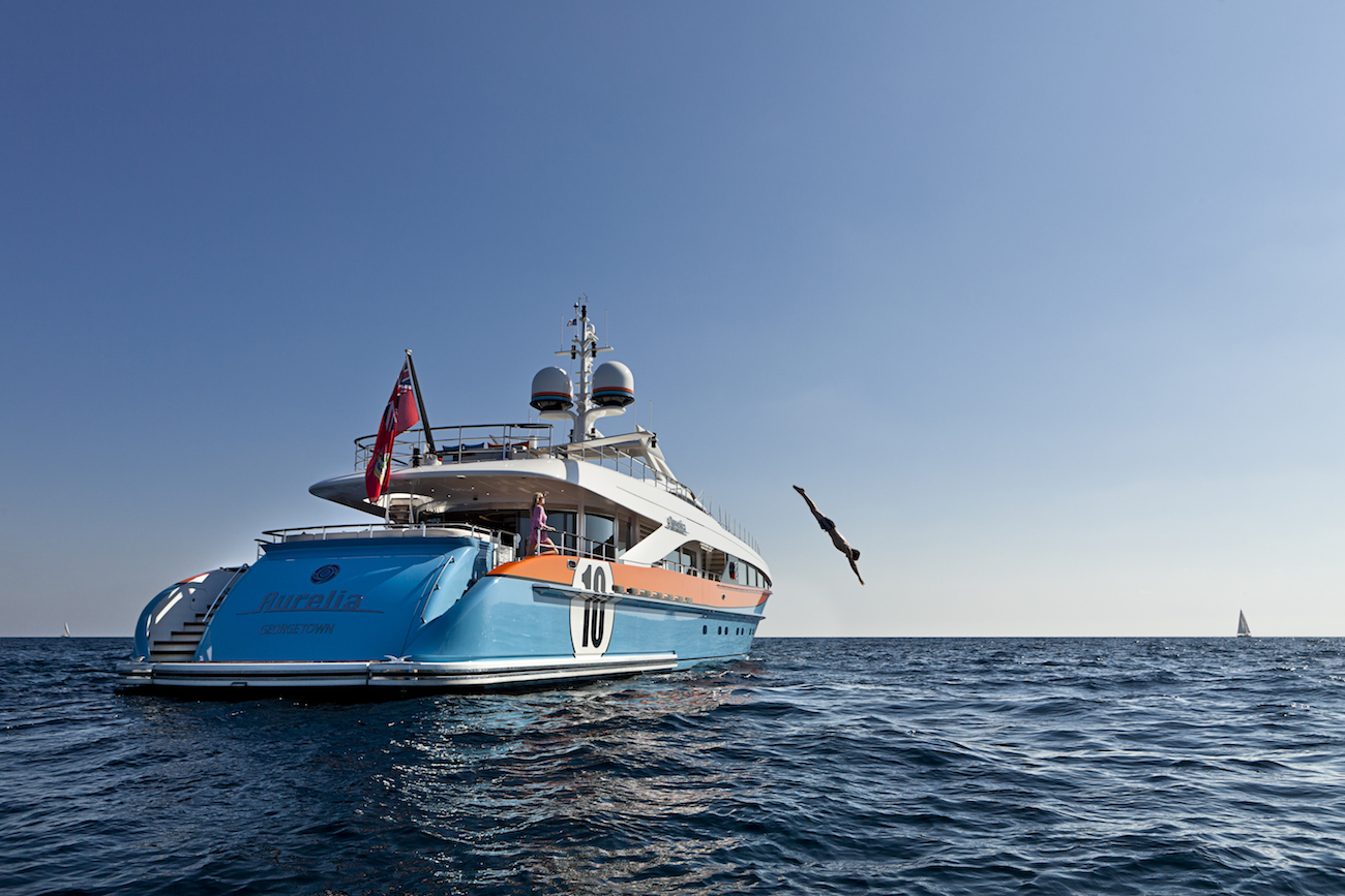 Luxury Yacht AURELIA